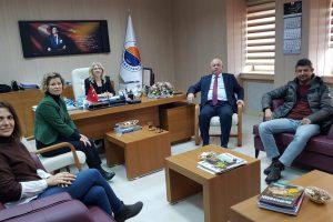 Samsun Sinop Su Ürünleri Yetiştiricileri Üretici Birliği Başkanı Sayın Osman PARLAK'tan Fakültemize Ziyaret