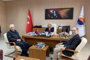 Sinop Kültür ve Turizm Derneği Yönetimi'nden Fakültemize Teşekkür Ziyareti