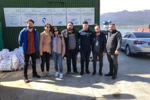 Öğretim Elemanlarımız Derbent Baraj Gölü Alabalık Yetiştiricilik Tesislerinde Ön İncelemelerde Bulundu