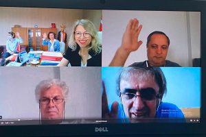 Fakültemiz Yönetim Kurulu Toplantısı Video Konferans Aracılığıyla Yapıldı