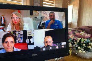 Fakülte Kurulu Toplantısı Video Konferans Aracılığı ile Yapıldı