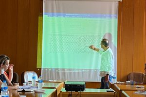 """Dış Paydaşımız Sn. İshak GENÇBAY tarafından """"Denizde Ağ Kafeslerde Balık Yetiştiriciliği"""" Projesi ile ilgili Bilgilendirme Toplantısı"""