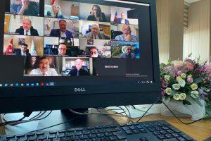 Su Ürünleri Fakülteleri Dekanlar Konseyi Toplantısı Video Konferans Aracılığı ile Yapıldı