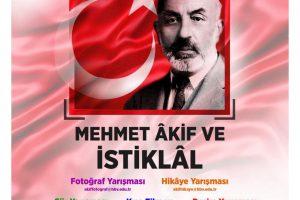 """""""Mehmet Âkif Ersoy ve İstiklâl"""" Temalı Yarışma Duyurusu"""