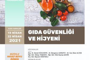 Gıda Güvenliği ve Hijyeni Sertifika Programı Tamamlandı